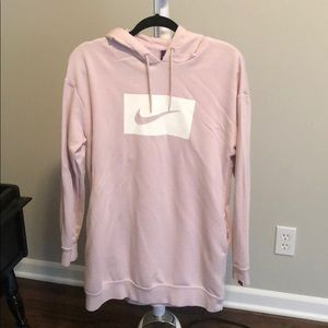 Pink nike dress
